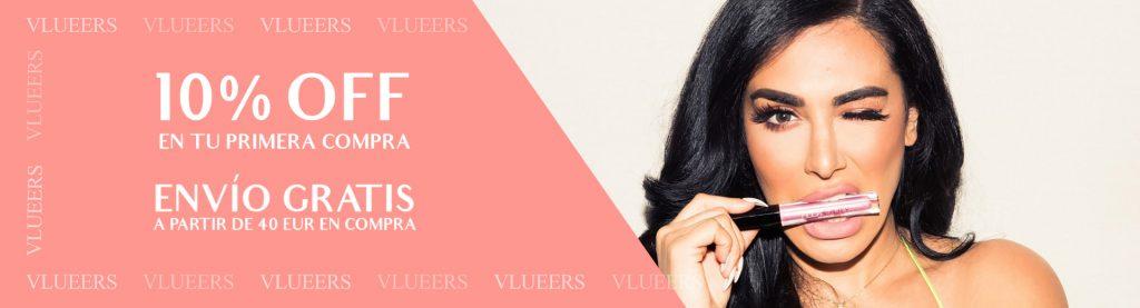Descuentos por primer compra en Vlueers Tienda de Moda en España